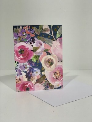 The Floral Gold Gift Card - Small