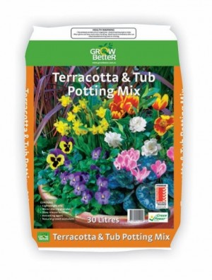 Terracotta & Tub Potting Mix 30lt