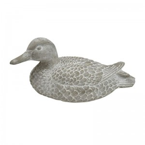 Daffy Duck Cement Sculp Grey