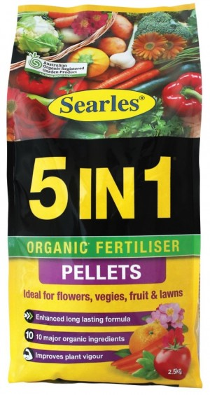5 In 1 Organic Pelleted Fertiliser