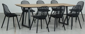 Rose 9pce Dining Set